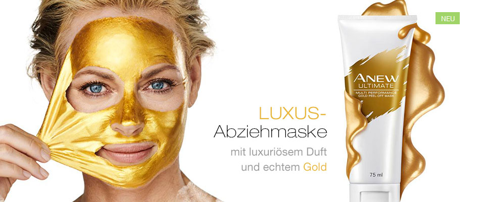 Neu! AVON ANEW Ultimate Gold-Peelingmaske!