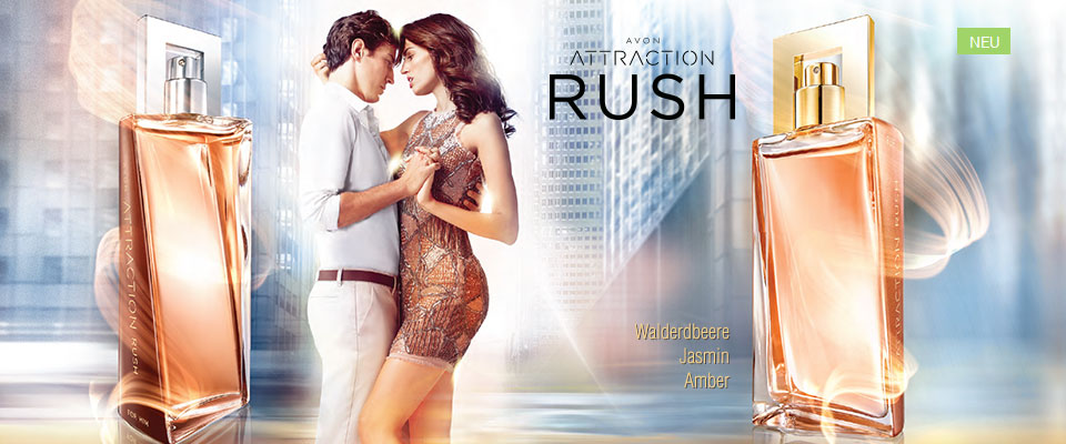 AVON Attraction Rush Eau de Parfum für Sie!