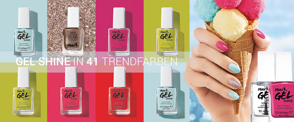 AVON mark. Gel Shine Nagellack in 41 Trendfarben!