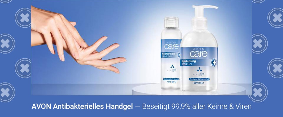 AVON care Antibakterielles Handgel!