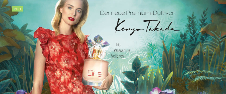 Der neue Premium-Duft von Kenzo Takada jetzt exklusiv bei AVON!