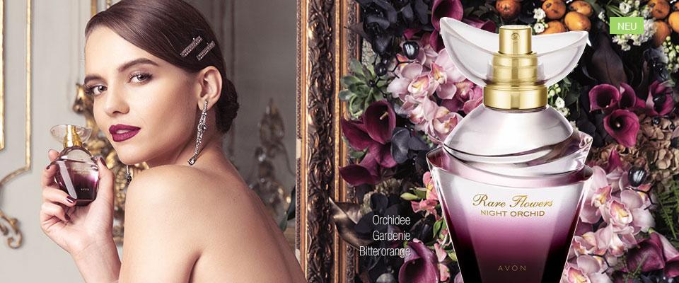 Neu! AVON Rare Flowers Night Orchid Eau de Parfum!