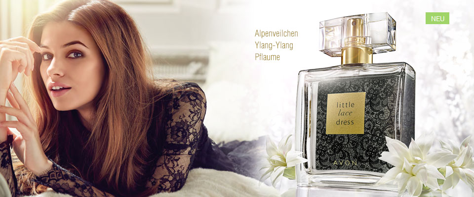 Neu - AVON Little Lace Dress Eau de Parfum!