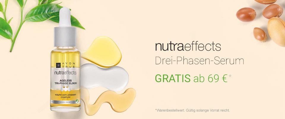 AVON nutraeffects Drei-Phasen-Serum gratis!
