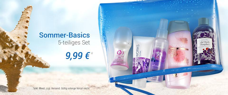 Exklusive Aktion - Sommer-Basics Set für nur 9,99 €!
